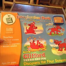 Imagination desk learning system new game Clifford the big red dog