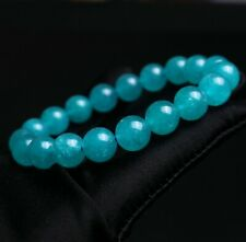 Crystal Beads Bracelet Aaa 10.4mm Natural Blue amazonite Quartz