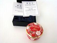 Halcyon Days Enamel The 2020 St Valentine's Day Enamel Box with Coa New Mint