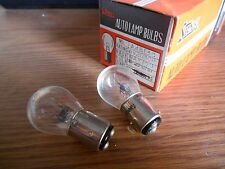 NOS Stanley A4813 6V 6 Volt Brake Stop Taillight Tail Light Bulb 1154 21/3w Qty2