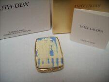 "Estee Lauder Solid Perfume Compact ""Garden Cameo"" MIBB"