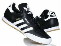 Adidas Samba Super Leather Black / White 019099 Mens Trainers All Sizes