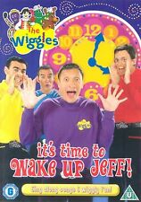 Its Time To Wake Up Jeff DVD The Wiggles Original UK Release Brand New Sealed R2