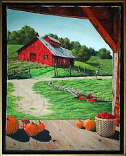 Alan Canham Inglaterra: verano Idylle granja pinturas verano 1970er años