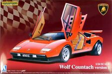 Aoshima 1/24 Lamborghini Countach Wolf Ver.1 04960