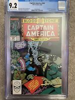 Captain America #360 CGC 🔑 KEY 1st Appearance of Crossbones (Brock Rumlow) MCU!