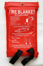 Fire Blanket Safe Safety Home Office 2 Release Straps Car Van Caravan Vehicle