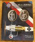 Blue Max Airmen Vol 1 Boelcke Immelmann WWI Ace Fokker E3 Sopwith Jasta