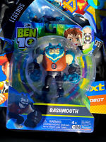 NEW Cartoon Network Ben 10 Action Figure Bashmouth Blue Wolf