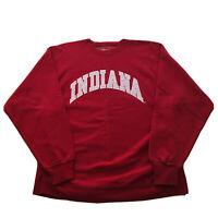 Vintage 90s Indiana University Hoosiers Sweatshirt Pullover College Spell Out OG