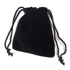 50 x schwarz Geschenktüte Schmuckbeutel Geschenkbeutel Geschenksäckchen Etui