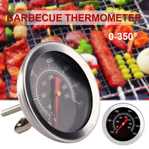 0-350° BBQ Barbecue Smoker Grill Stainless Steel Temperature Thermometer Gauge!