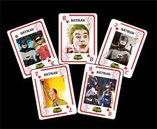 BATMAN 1 BOX WITH 54 POKER PLAYING CARDS - ARGENTINA! - NIB - ( WEST WARD )