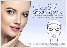 ClearSilk Smoothing Strips (Assorted 162 Ct) Facial Wrinkle Repair & Prevention