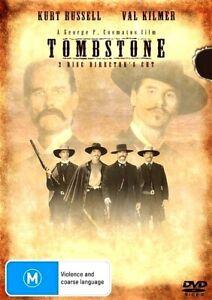 TOMBSTONE Special Edition New 2 Dvd VAL KILMER KURT RUSSELL ***