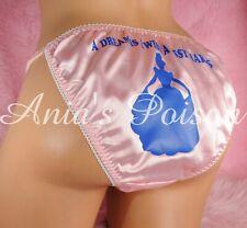 Sissy Princess Dream Satin big bow string bikini girly mens panties S- XXL