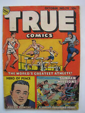 True Comics #79 (October 1949, True) [VG+ 4.5]