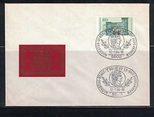 Germany 1984: #1409, 2ooth Anniv Trier Label Cachet UA  FDC:-Lot#12/08