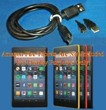 "Micro B USB Sync Charging C2G 3' Cable Fit AMZN Kindle Fire Tablets 7"" 8"" 9"" 10"""