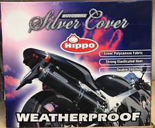 MEDIUM  Motorcycle Waterproof Outdoor Motorbike Rain Dust Sun Cover Silver
