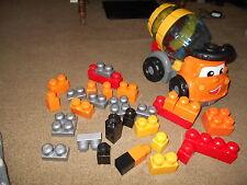 Lot of 31 MegaBloks Building Blocks w Cement Construction Truck