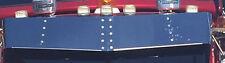 "Stainless Steel 13"" Kenworth Drop Visor to suit 600/601,T650,900,950"