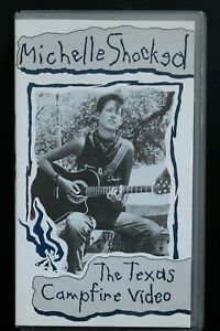 Michelle Shocked - The Texas Campfire Video (VHS, PAL) (JE 180)