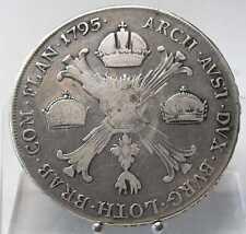1 Kronentaler 1795 H, Günzburg, Franz II., Silber