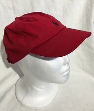 Ralph Lauren Polo RL Adjustable Boys 4-7 Classic Red w/ Blue Pony Sport Cap Hat