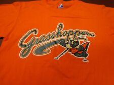 Greensboro Grasshopper Baseball  Majestic Orange Baseball Small   T Shirt    L26