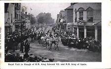 Slough. Royal Visit of King Edward VII & King of Spain by Geo.Drake, Slough.