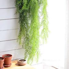 Artificial Pine Needles Hanging Vine Plant Leaf Garland  Garden Wall Decoration