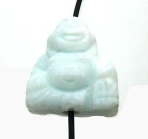 Buddha von oben gebohrt Amazonit 2 cm