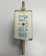 SIBA fuse - NH1 - 125amp 20211034  20 211 34 NEW Made in Germany
