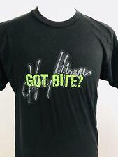 Captain Morgan Lime Bite Mens T Shirt Large L Short Sleeve Black Rum Promo 1D