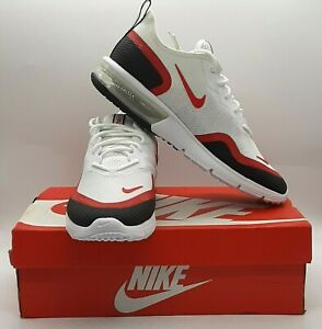 Nike Men's Air Max Sequent 4.5 SE Trainers UK 7.5 EUR 42 US 8.5 White Red