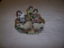 Miniature Nativity Tea Set 10 Pieces