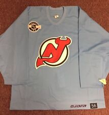 Authentic Center Ice JOFA Practice NHL Jersey NJ Devils 56 fight strap NEW 29005a417