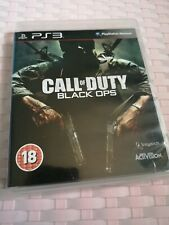 Call Of Duty: Black Ops, PS3 Playstation 3, PAL UK Original, First One 1 I, 2010