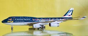 Blue Box 1:200 Boeing 747-400 Cathay Pacific 'Spirit of Hong Kong' Ref: BBOX1113