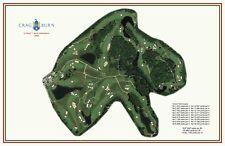 Crag Burn - 1969 - Robt T Jones - a VintageGolfCourseMaps print