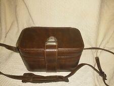 Vintage Leather Hard Case Camera Bag, Excellent Condition