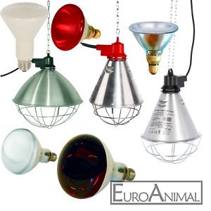 Rotlichtlampe Infrarotlampe Strahler Ferkellampe Kükenlampe  Heiz- Stalllampe