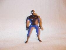 Marvel Spider-man Figura 1995 Negro y Azul 4.5 pulgadas