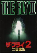 THE FLY II Japanese Souvenir Program 1986, Chris Walas, Eric Stoltz