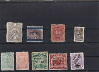 EL SALVADOR  MOUNTED MINT OR USED STAMPS ON  STOCK CARD  REF R1026