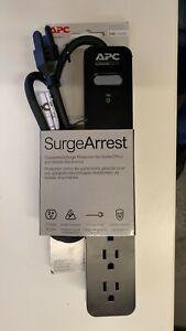 APC Essential Surgearrest PE63 - surge protector - 1200-watt