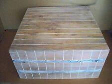 XL Couchtisch Mangoholz mit Metallrahmung altweiß   Antikfinish Gutmann Factory