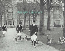 New listing Royal Agricultural College Beagles 1935 2 Page Photo Article E337
