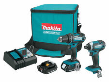 "Makita Drill Driver Kit CT225R LXT 18V 2.0 Ah Li-Ion Impact Diver & 1/2"""